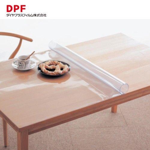 日本製サイズオーダー透明テーブルマット お仕立て券仕様 通販の テーブルマット テーブルクロス ビニール テーブル