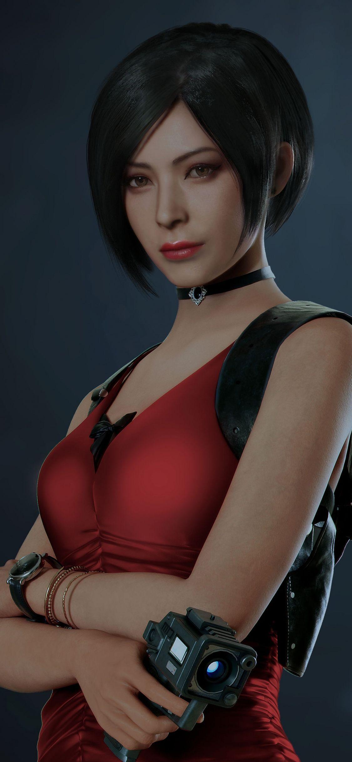 Ada Wong, Resident Evil 2, confident, video game
