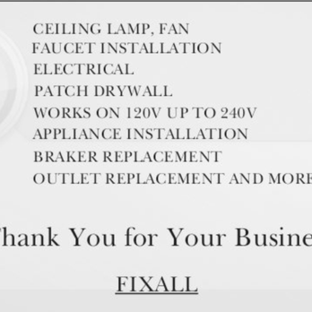 Photos And Videos Edfixall Yelp For Business Owners Appliance Installation Ceiling Lamp Photo