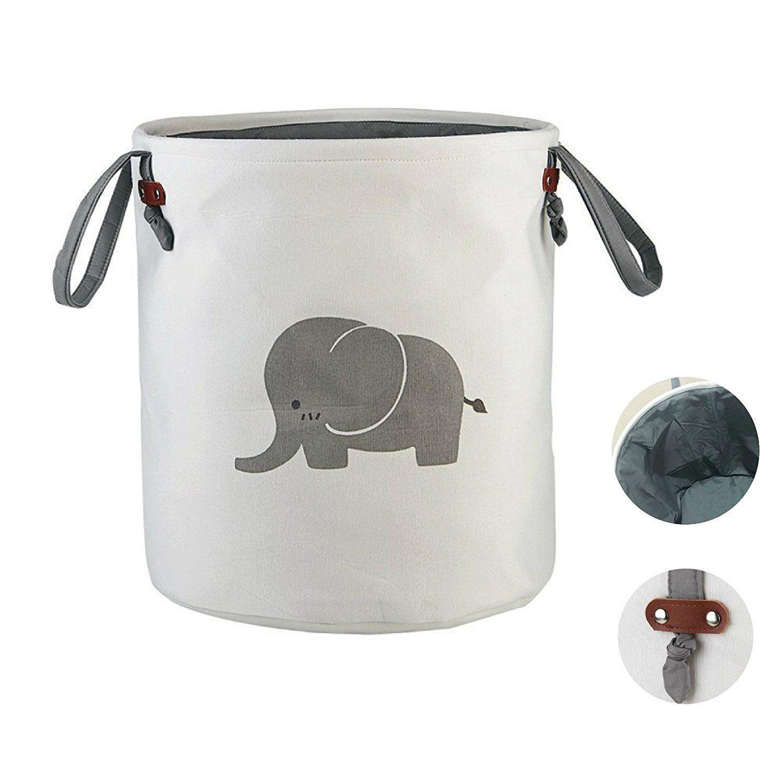 Elephant Laundry Basket Cute Laundry Bags Eco Friendly Small