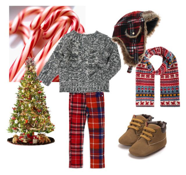"""""""Boys Outfit - Holidays are Here"""" by bitzkidsnyc on Polyvore featuring General Foam and Monsoon"""