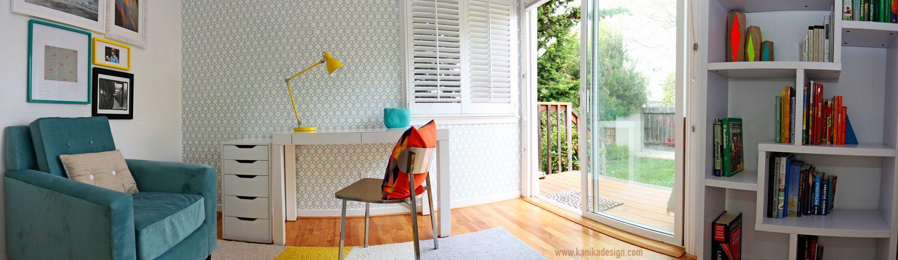 San mateo home office interior design project www.kanikadesign.com #interiordesign #homeoffice #modern #decor #decoration #lifestyle #design #homedecor #home
