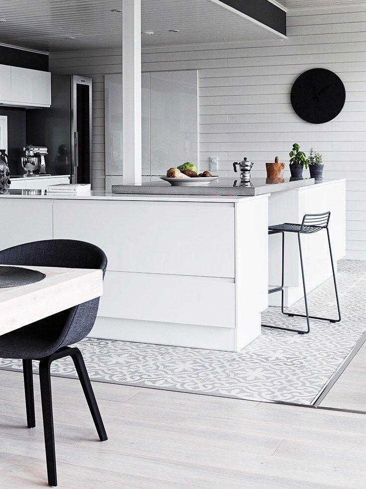 Delightful Finnish Home Interior, Finland Home Decor, Wall Gallery, Black Wall Decor,  Total