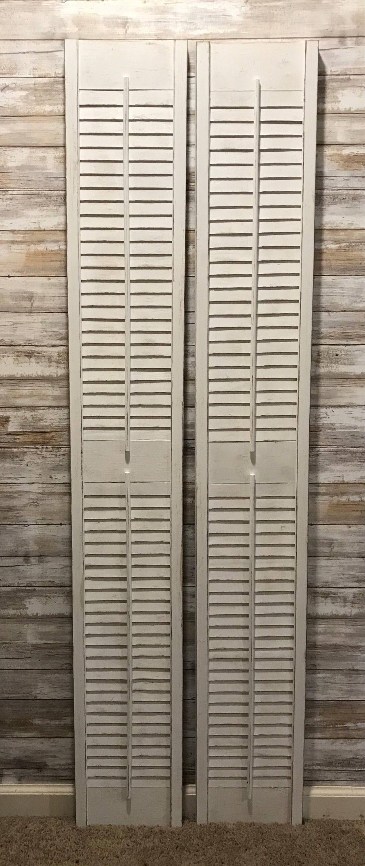 Custom shutters wooden shutters vintage shutters farmhouse