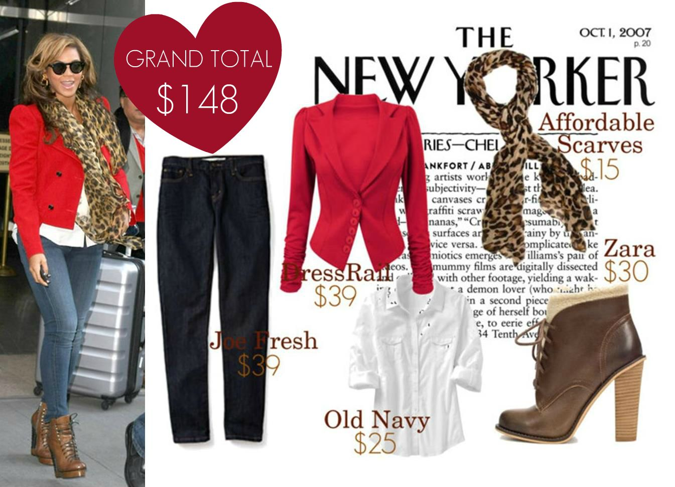 Celeb Look for Less, #Look for Less, #Beyonce, #Celeb Style