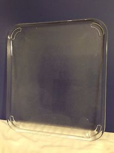 Microwave Oven Rectangle Replacement Glass Plate Tray 03 15 3 4 X 14 1 4 Glass Plates Glass Replacement Microwave Plate