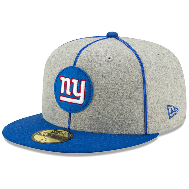 NEW Era 59 Fifty Cap-Sideline Home New York Giants