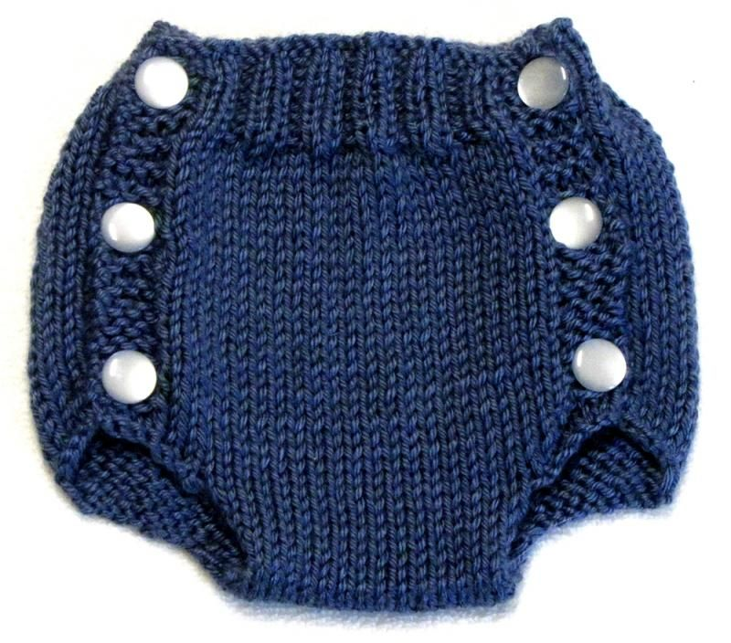 Diaper Cover Knitting Pattern - PDF - Small | Diaper cover pattern ...