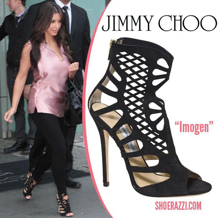 d92893ff07b Kim Kardashian in Jimmy Choo