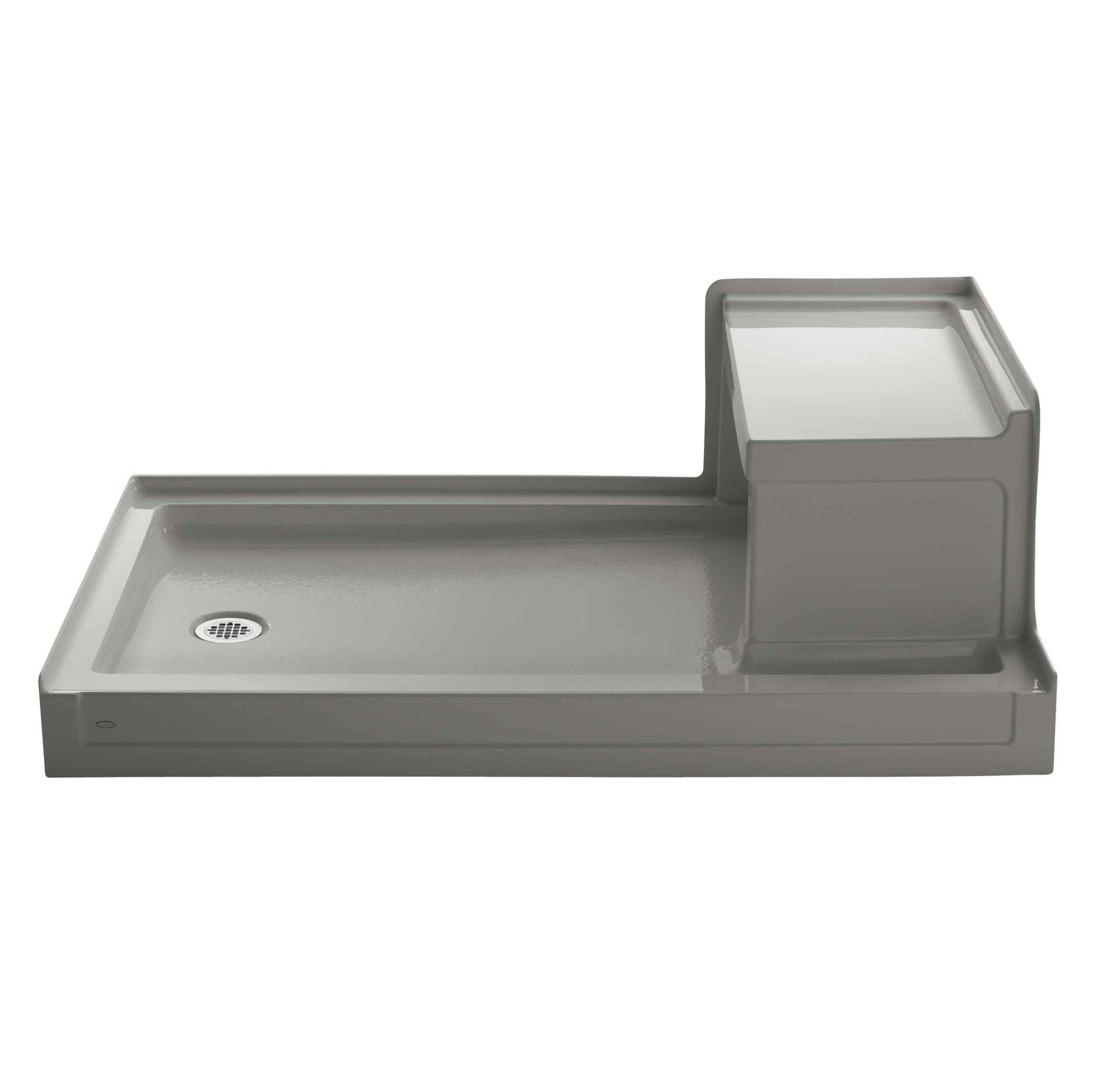 Tresham 60 X 36 Single Threshold Left Hand Drain Shower Base