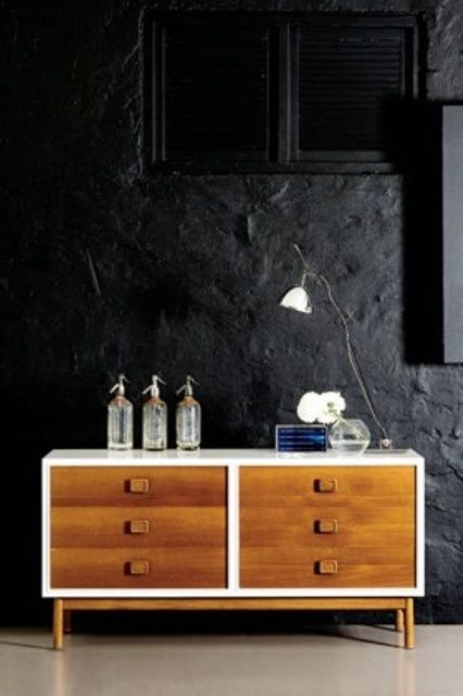 Sideboard Mid Century teak and white sideboard mid century design mid century modern
