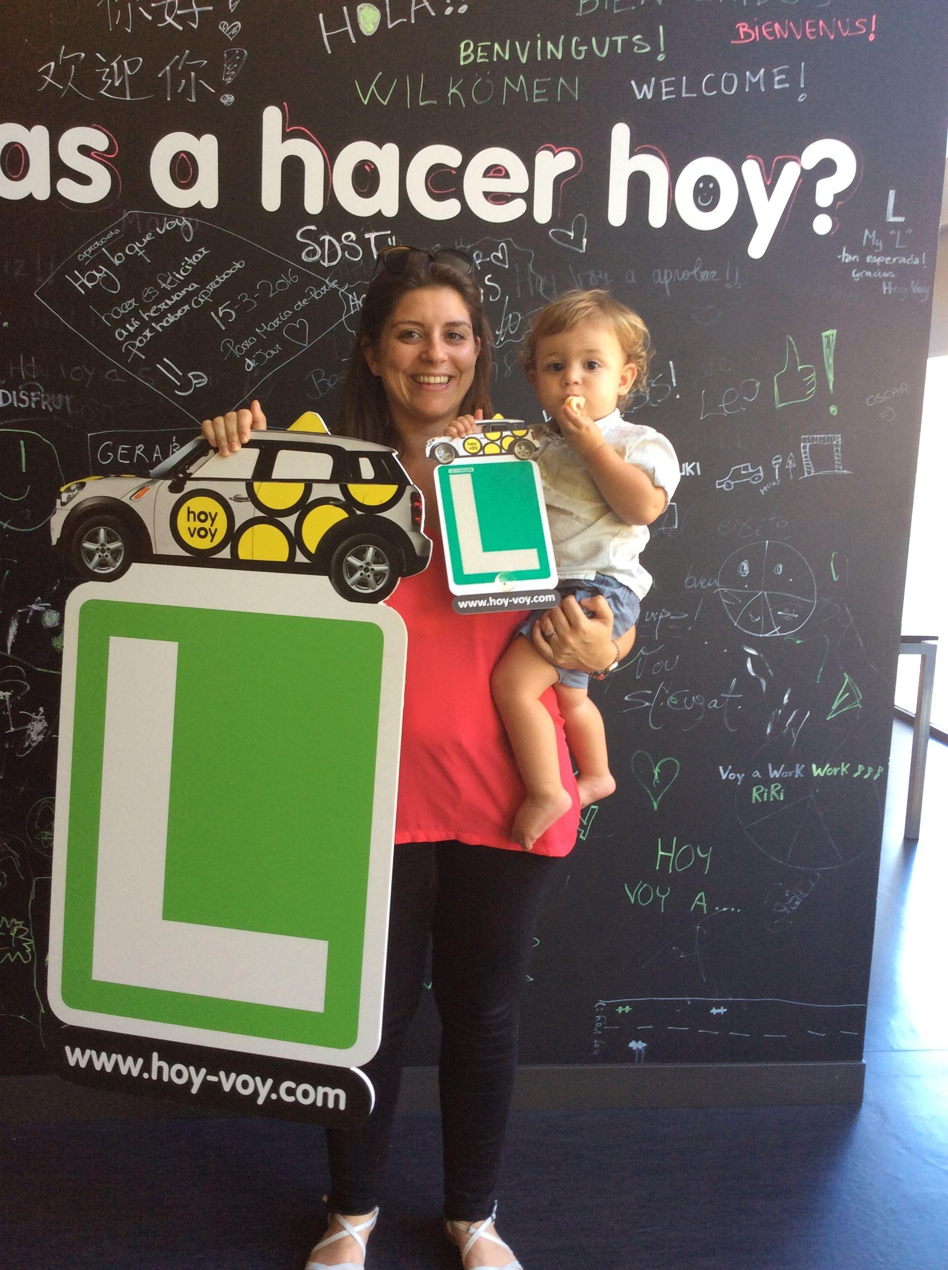 ERICA PARADELL!!! #hoyvoy #autoescuela #santcugat