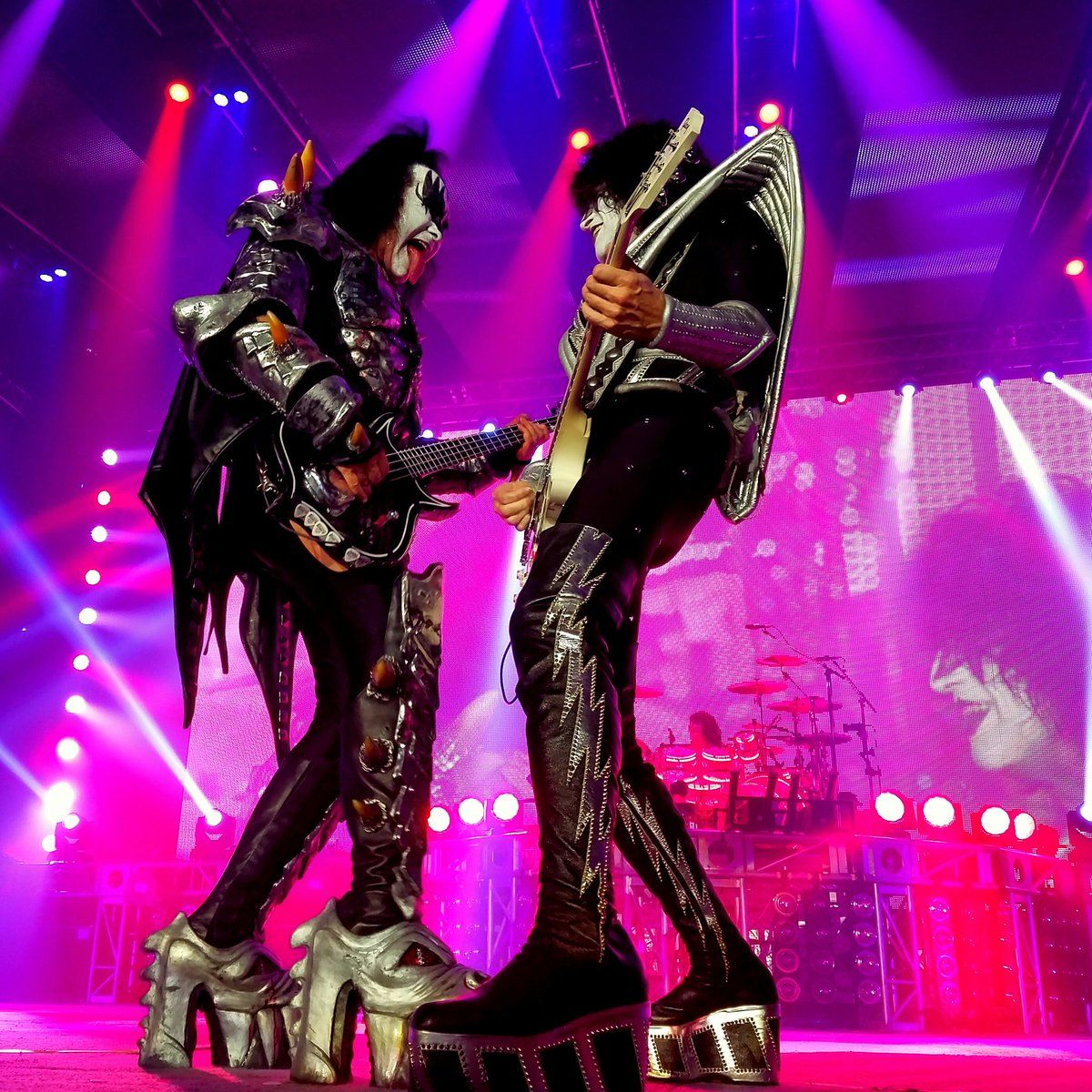 Gene Simmons and Tommy Thayer