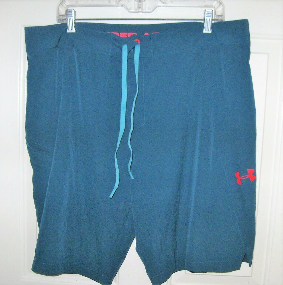 aa5450014e5ac (eBay Sponsored) Under Armour board shorts 38 mens hybrid teal blue swim  surf heat