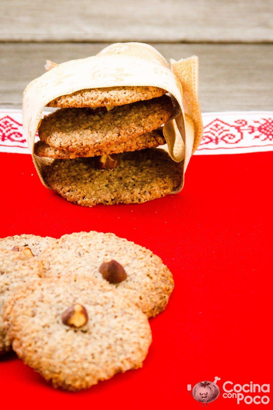 Galletas de avellana – Sin gluten
