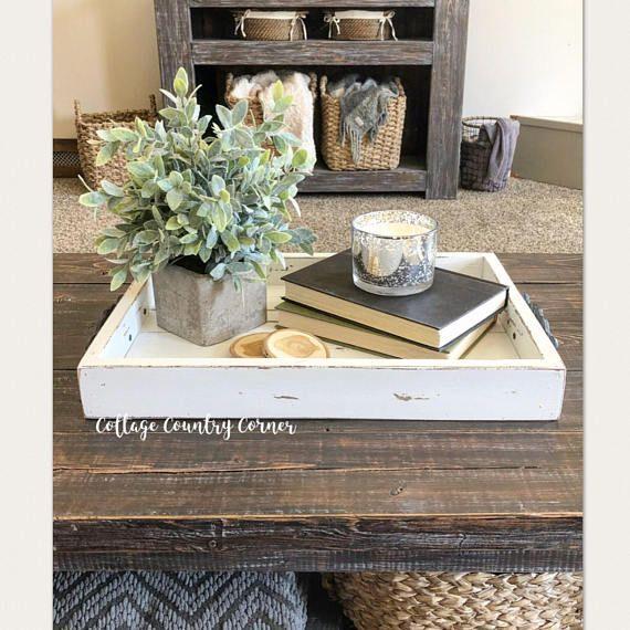 Magazine Tray Coffee Table Tray Magazine Tray Coffee Coffee Table Decor Tray Farmhouse Coffee Table Decor Coffee Table Decor Living Room