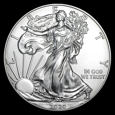 2020 1 Oz Silver American Eagle Bu Coin U S Mint Silver Coins Apmex In 2020 Silver Bullion Silver Eagle Coins American Silver Eagle