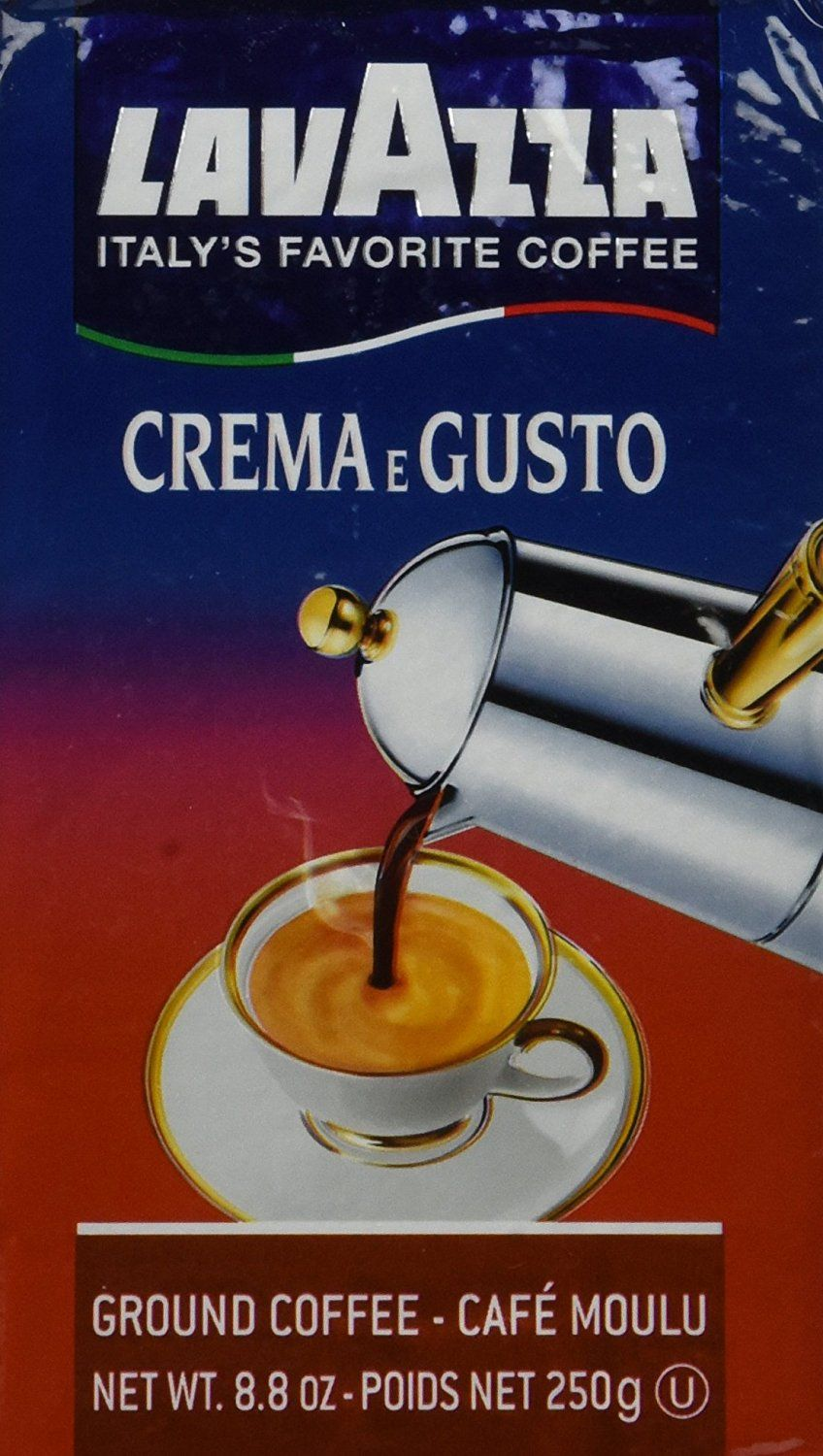 Espresso Crema and Gusto (Lavazza) Ground Coffee * You can