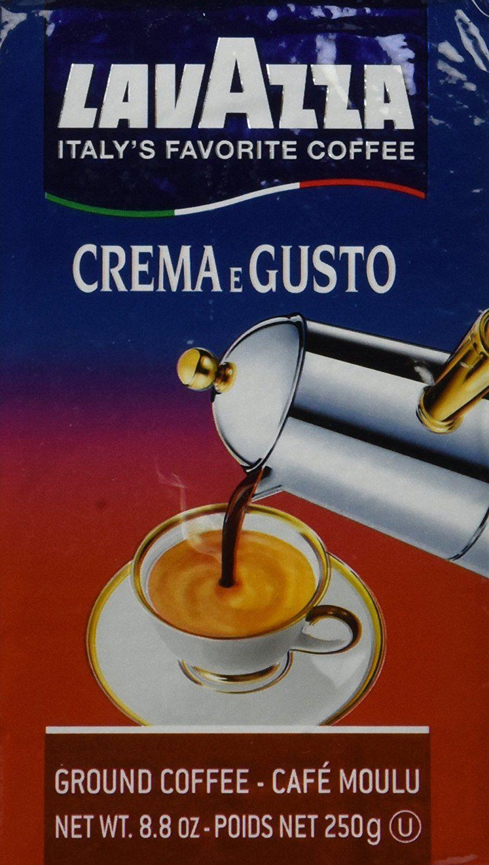 Espresso Crema and Gusto (Lavazza) Ground Coffee * You can