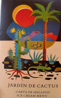 Poster Advertising Lanzarote Cactus Garden Designed By Cesar