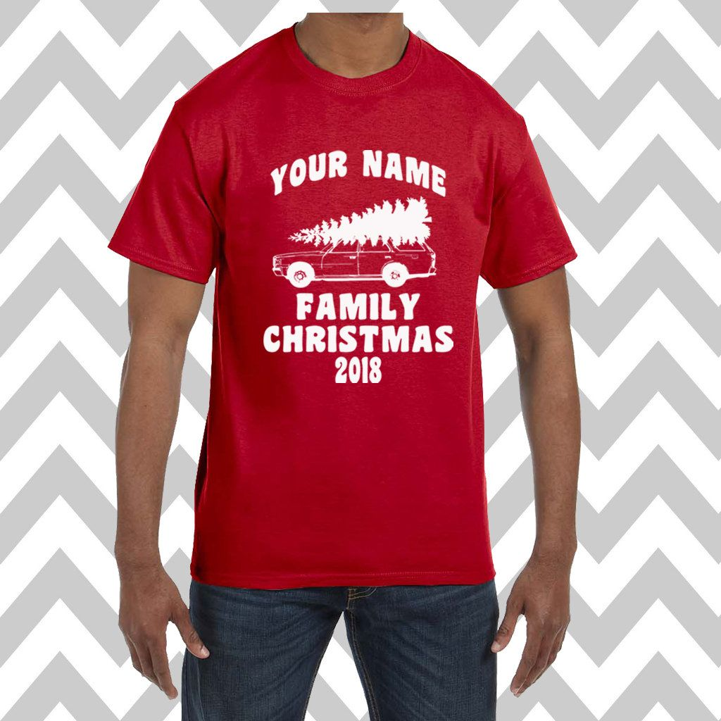 1f104908 Custom Griswold Family Christmas Unisex T-Shirt Ugly Christmas Sweater  Adult Christmas T-Shirt Holiday Party Tee Family Pictures Tee