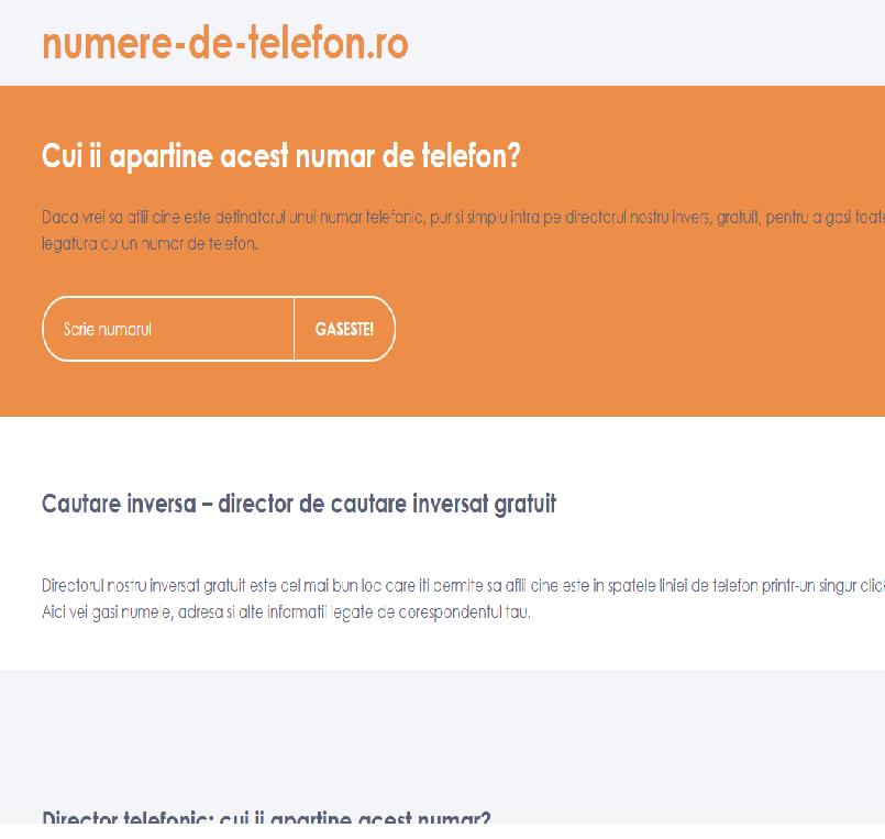 Numar de numere gratuite Site- uri datand din Elve? ia