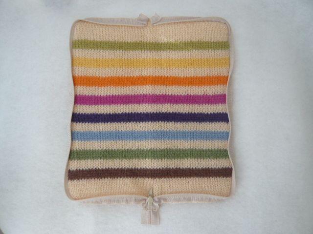"""[Riservato] """"Tutorial Sharing"""" custodia cerniera lana a maglia (disegni su carta)"""