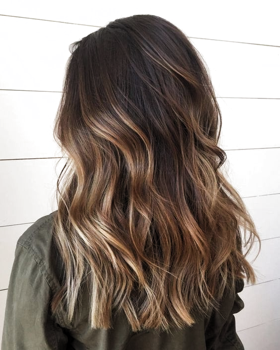 Pin By Danni Kiernan On New Hair In 2020 Brown Hair With Highlights Brunette Hair Color Brown Hair Balayage