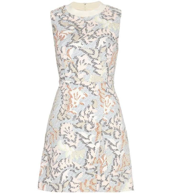 Tory Burch Stretch jacquard dress