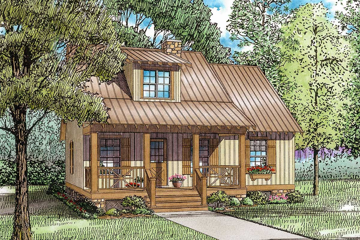 Plan 59151nd Unique Country Cottage House Plan Craftsman Style House Plans Cottage Style House Plans Country Cottage House Plans