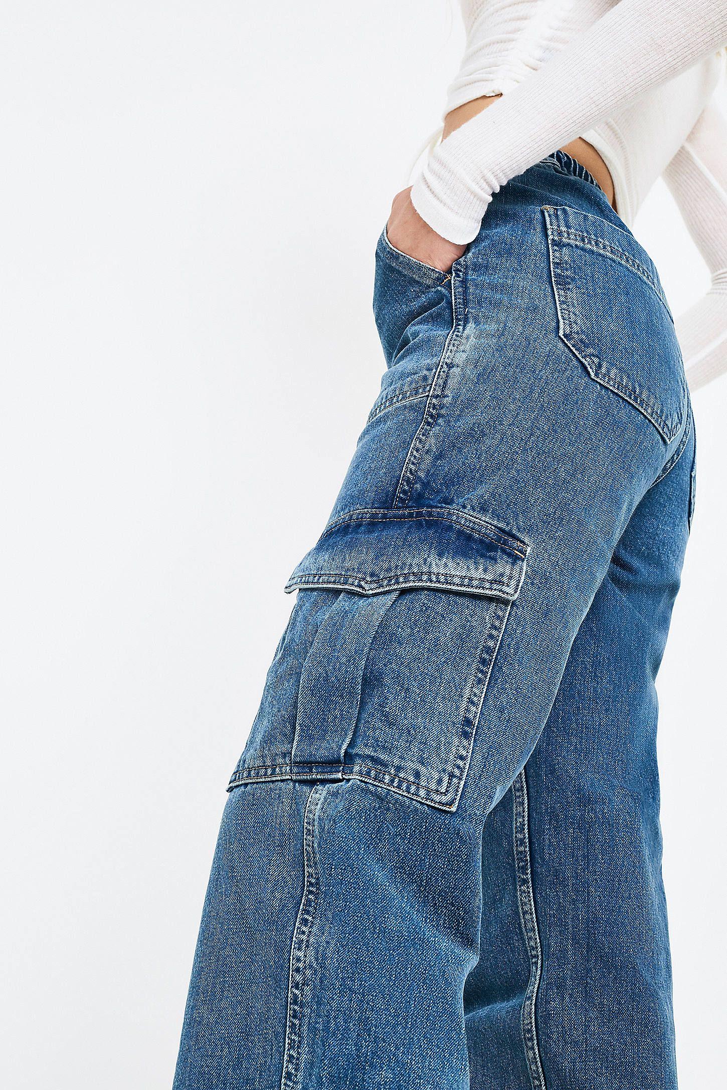 Photo of BDG denim skate jeans
