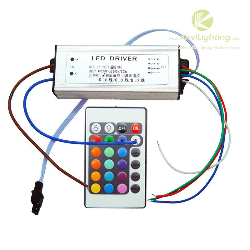 Dc 28v 38v 320ma Led Driver For 30w Rgb Led Lights Input Ac 110v 220v Ip67 Waterproof Official Kiwi Lighting Blog Led Drivers Led Lights Rgb Led Lights
