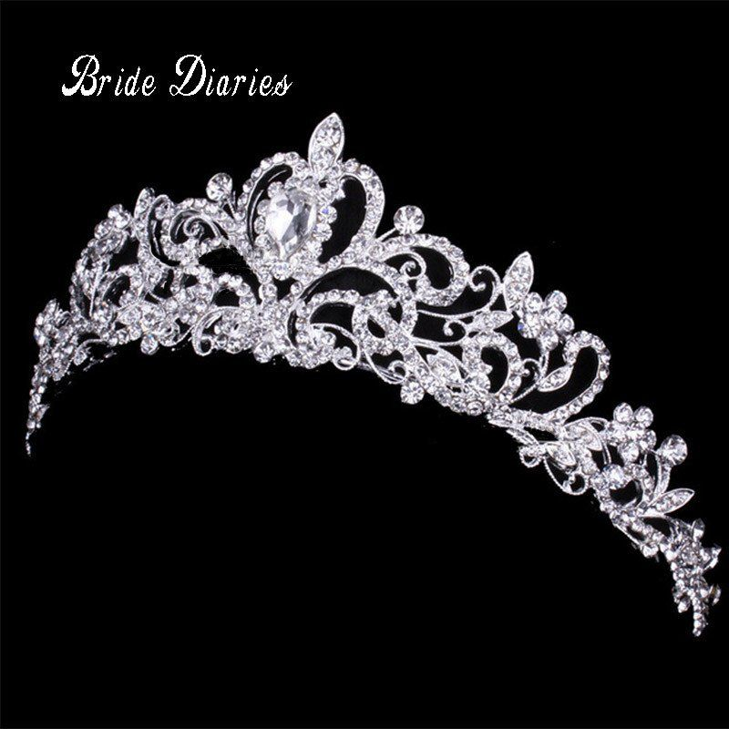 Tiaras And Crowns Wedding Tiara Bridal Crown Wedding Tiaras For Brides Crystal Bridal Tiaras Hair Accessories Tiara Bridal Jewelry