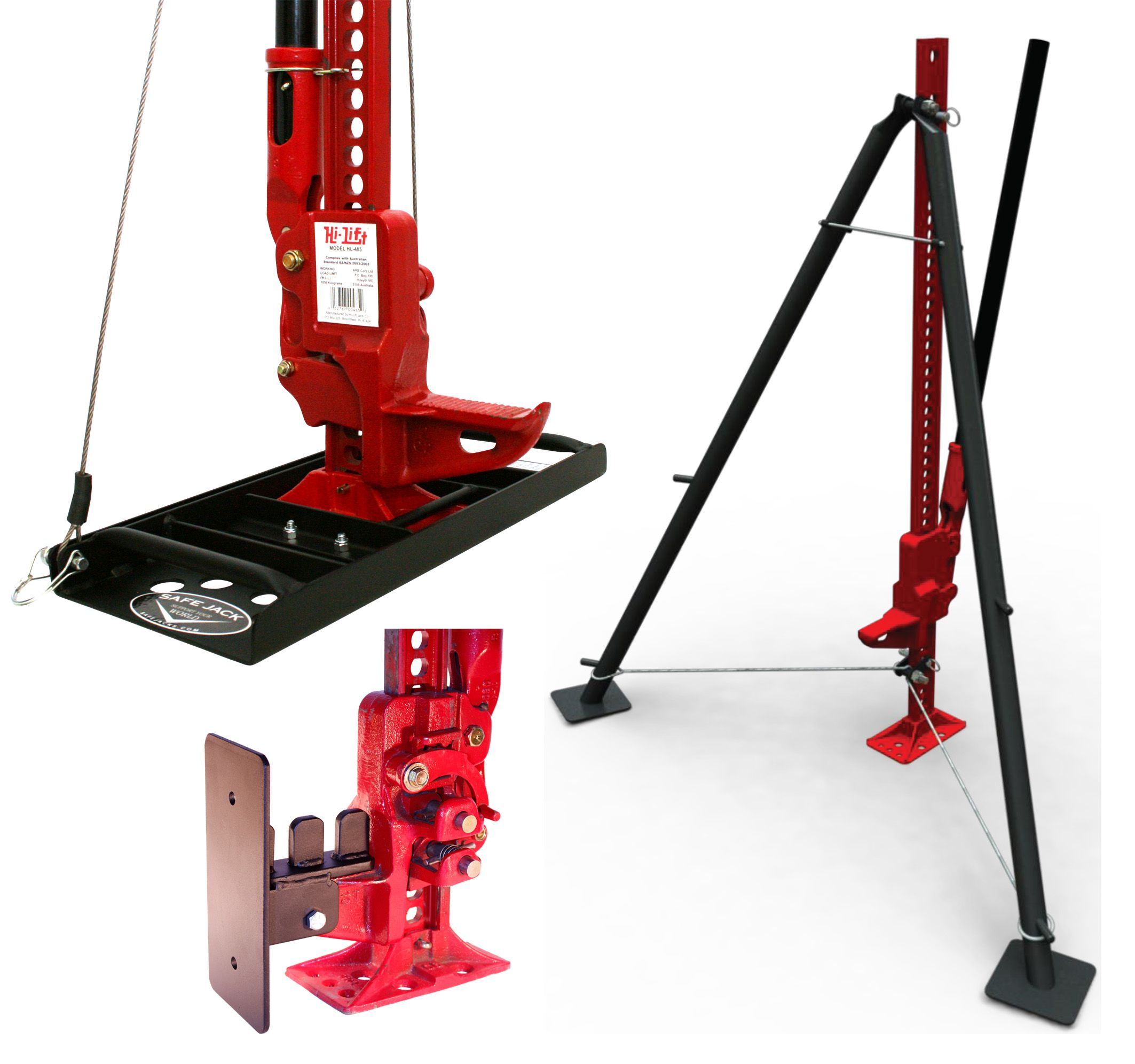 These Hi Lift Farm Jack Accessories Turn A Handy Jack Into An