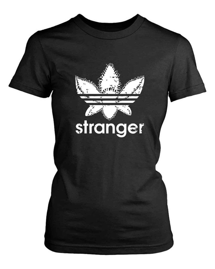Demogorgon Stranger Things Adidas Funny Women S T Shirt Demogorgon Stranger Things T Shirts For Women Shirts [ 1024 x 819 Pixel ]