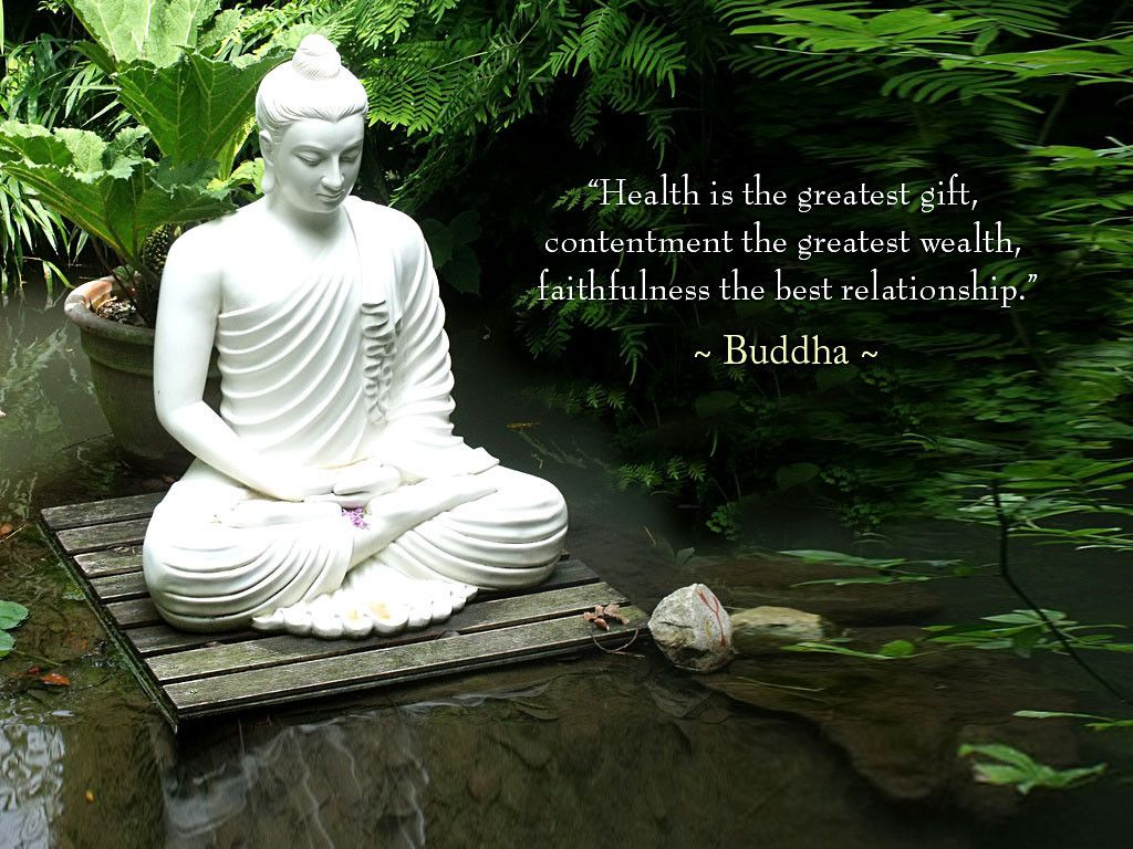 Buddha Quotes With Beautiful Buddha Statue Yoga Buddha Quote