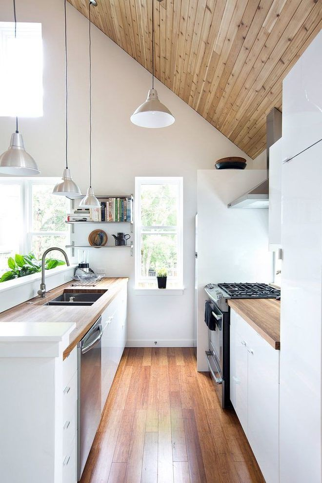 Image Result For Small Galley Kitchen Ideas Surf Shack Pinterest - Small-galley-kitchen-design-painting
