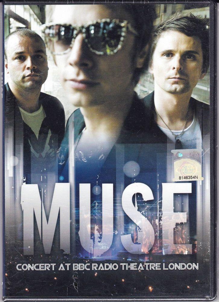MUSE Concert At BBC Radio Theatre London DVD NTSC PAL Region All Free Shipping