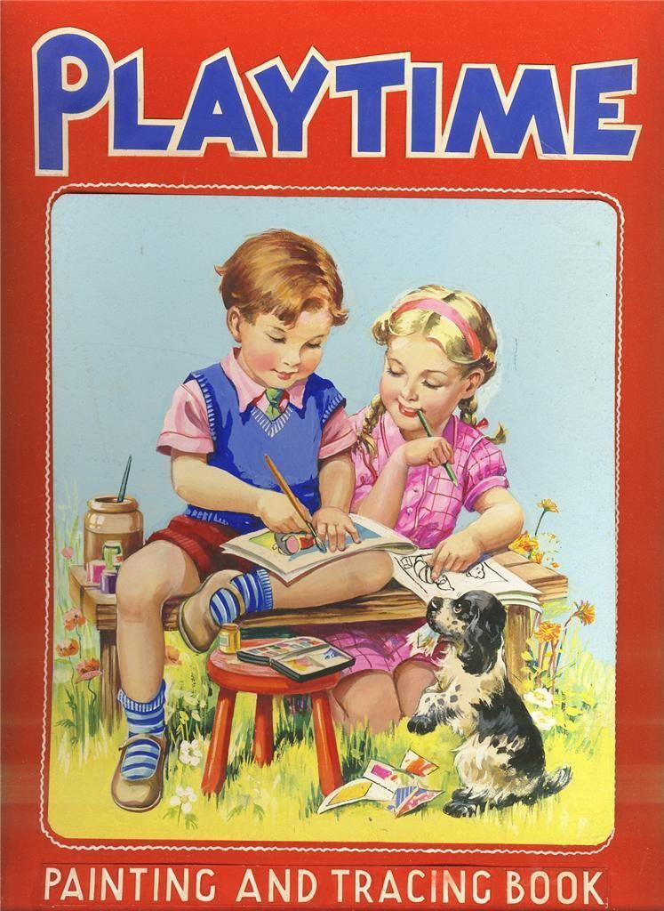 1950 u0026 39 s birn bros   u0026quot playtime u0026quot  cover art