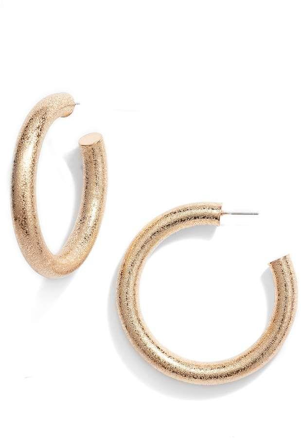 bd5549e08aa5f 8 Other Reasons x Jill Jacobs Philly Hoop Earrings in 2019 ...