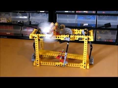 Lego Congreve Rolling Ball Clock Wip Youtube Lego Pinterest