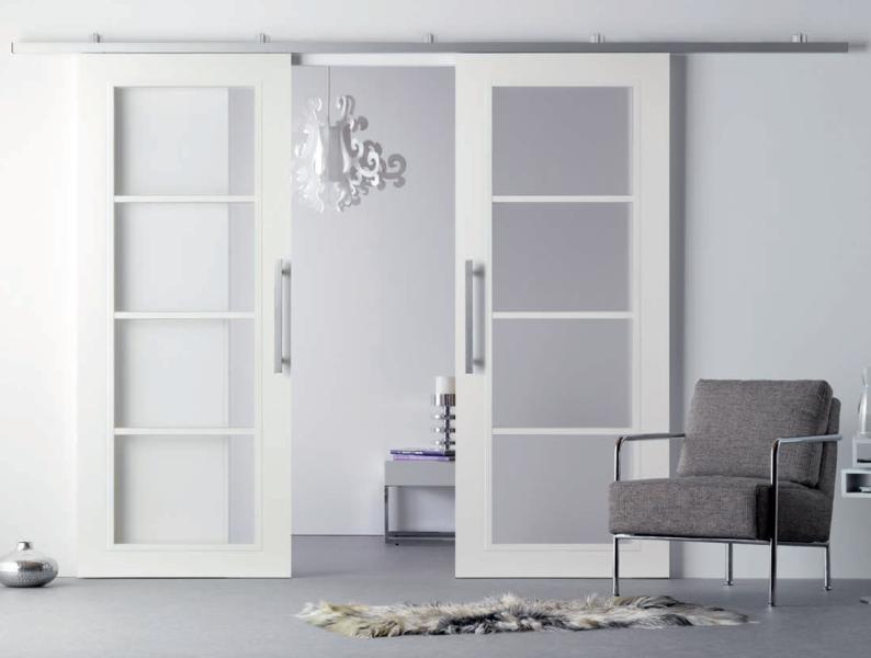 Wohnzimmer Glastür ~ Innenraumtüren schiebetüren glastüren modern klassisch