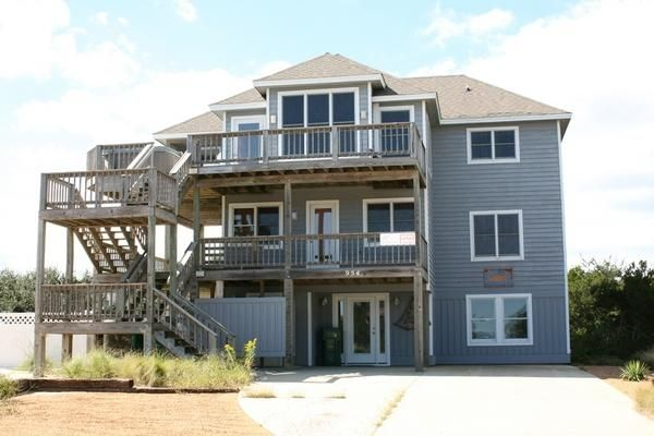 brindley beach oceanside outer banks rentals whalehead beach rh pinterest com