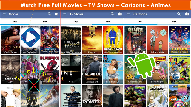 Watch streaming anime series with the anyme app