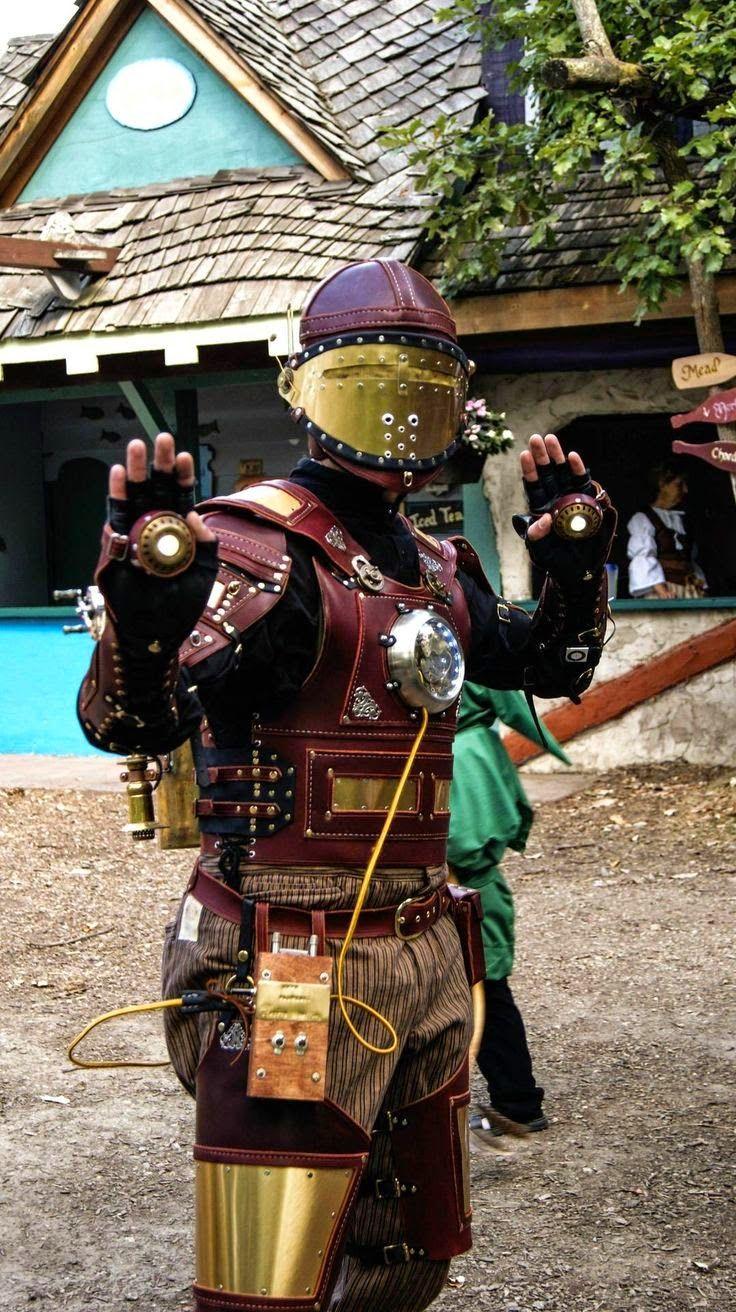 El desván del Freak: Pedazo de cosplay de Iron Man a lo steampunk
