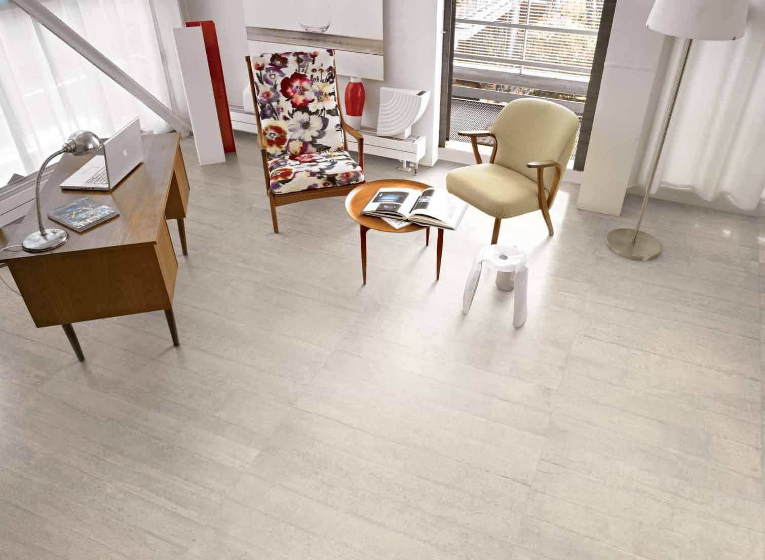 Provenza Fliesen Betonoptik Provenza Re Use Concrete Calce White Teilpoliert 45x90