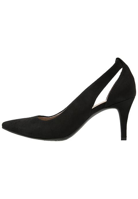 TamarisClassic heels - black/pewter metallic 8fAEnCp