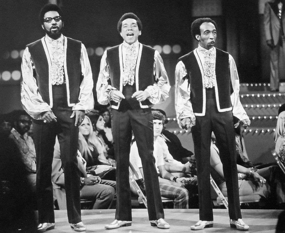 Smokey Robinson and the Miracles Motown Group Music Print