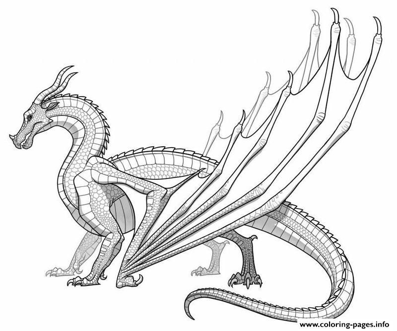 Print Realistic Dragon For Adults Coloring Pages Adult Coloring - dragon coloring pages for adults