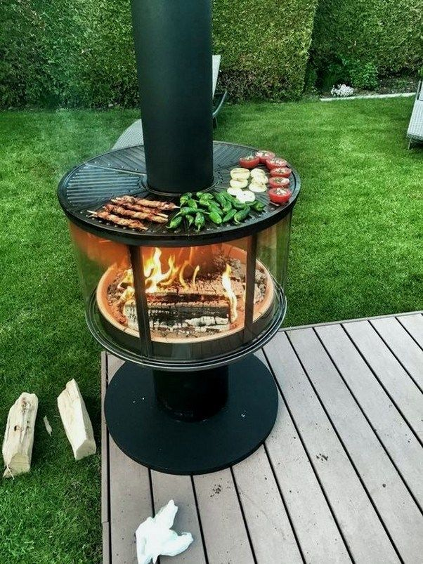 22 Cinder Block Fire Pits Types 17 Outside Fire Pits Cinder Block Fire Pit Fire Pit Grill